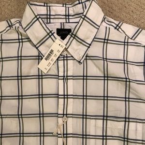 Men's NWT J Crew 100% Cotton Shirt